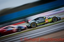 Paul Dalla Lana (CAN) / Pedro Lamy (PRT) / Mathias Lauda (AUT) driving the LMGTE Am Aston Martin Racing Aston Martin V8 Vantage Free Practice 1 FIA WEC 6H Silverstone - Friday 15th April 2016