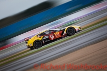Yutaka Yamagishi (JPN) / Pierre Ragues (FRA) / Paolo Ruberti (ITA) driving the LMGTE Am Larbre Competition Chevrolet Corvette C7 Free Practice 1 FIA WEC 6H Silverstone - Friday 15th April 2016