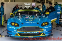 Richie Stanaway (NZL) / Fernando Rees (BRA) driving the LMGTE Pro Aston Martin Racing Aston Martin Vantage Free Practice 2 FIA WEC 6H Silverstone - Friday 15th April 2016