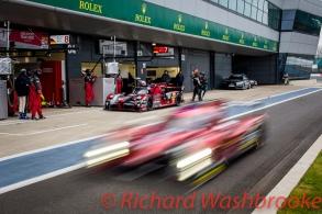 Marcel Fassler (CHE) / Andre Lotterer (DEU) / Benoit Treluyer (FRA) driving the LMP1 Audi Sport Team Joest Audi R18 Hybrid Free Practice 2 FIA WEC 6H Silverstone - Friday 15th April 2016