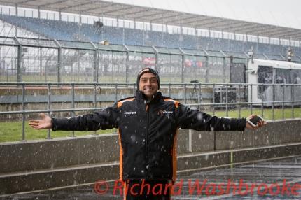Roman Rusinov (RUS) driving the LMP2 G-Drive Racing Oreca 05 - Nissan Free Practice 3 FIA WEC 6H Silverstone - Saturday 16th April 2016