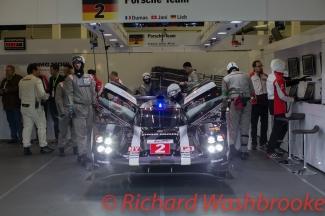 Romain Dumas (FRA) / Neel Jani (CHE) / Marc Lieb (DEU) driving the #2 LMP1 Porsche Team (DEU) Porsche 919 Hybrid Free Practice 3 FIA WEC 6H Silverstone - Saturday 16th April 2016