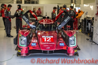 Nicolas Prost (FRA) / Nelson Piquet (BRA) / Nick Heidfeld (DEU) driving the LMP1 Rebellion Racing Rebellion R-One - AER Free Practice 3 FIA WEC 6H Silverstone - Saturday 16th April 2016