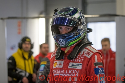 Dominik Kraihamer (AUT) driving the LMP1 Rebellion Racing Rebellion R-One - AER Free Practice 3 FIA WEC 6H Silverstone - Saturday 16th April 2016