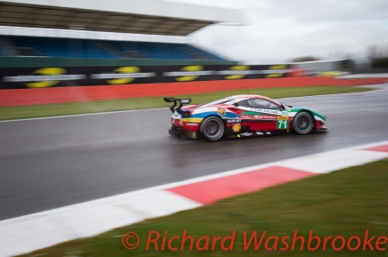 Qualifying - LMGTE Pro & LMGTE Am - Davide Rigon (ITA) / Sam Bird (GBR) / driving the LMGTE Pro AF Corse Ferrari 488 GTE fastest in the qualifier for LMGTE Pro Saturday 16th April 2016