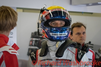 Mark Webber (AUS) looking on during the #1 LMP1 Porsche Team (DEU) Porsche 919 Hybrid Qualifying LMP1 & LMP2 FIA WEC 6H Silverstone - Saturday 16th April