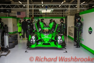 Ryan Dalziel (GBR) / Luis Felipe Derani (BRA) / Christopher Cumming (CAN) driving the LMP2 Extreme Speed Motorsports Ligier JS P2 - Nissan Qualifying LMP1 & LMP2 FIA WEC 6H Silverstone - Saturday 16th April
