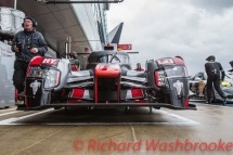 Lucas Di Grassi (BRA) / Loic Duval (FRA) / Oliver Jarvis (GBR) driving the LMP1 Audi Sport Team Joest Audi R18 Hybrid Qualifying LMP1 & LMP2 FIA WEC 6H Silverstone - Saturday 16th April