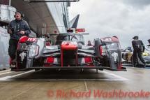 Lucas Di Grassi (BRA) / Loic Duval (FRA) / Oliver Jarvis (GBR) driving the LMP1 Audi Sport Team Joest Audi R18 Hybrid Qualifying LMP1 & LMP2 FIA WEC 6H Silverstone - Saturday 16th April
