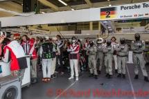 Romain Dumas (FRA) / Neel Jani (CHE) / Marc Lieb (DEU) driving the #2 LMP1 Porsche Team (DEU) Porsche 919 Hybrid Qualifying LMP1 & LMP2 FIA WEC 6H Silverstone - Saturday 16th April
