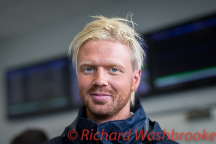 Stefan Mucke (DEU) during the Media Interview LMGTE Pro Ford Chip Ganassi Team UK Ford GT FIA WEC 6H Silverstone - Saturday 16th April 2016