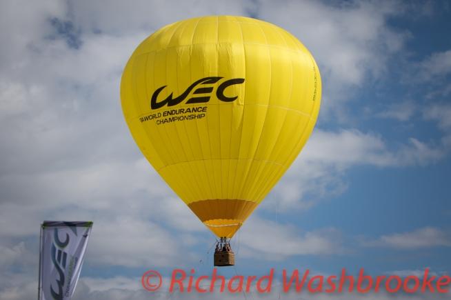 WEC Balloon FIA WEC 6H Silverstone - Saturday 16th April 2016