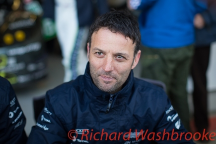 Autograph session with Darren Turner (GBR) driving the LMGTE Pro Aston Martin Racing Aston Martin Vantage FIA WEC 6H Silverstone - Sunday 17th April 2016