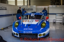 Christian Ried (DEU) / Wolf Henzler (DEU) / Joel Camathias (CHE) driving the LMGTE Am KCMG Porsche 911 RSR FIA WEC 6H Silverstone - Sunday 17th April 2016
