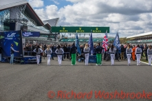 Track Walk FIA WEC 6H Silverstone - Sunday 17th April 2016