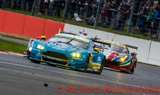 Richie Stanaway (NZL) / Fernando Rees (BRA) driving the LMGTE Pro Aston Martin Racing Aston Martin Vantage FIA WEC 6H Silverstone - Sunday 17th April 2016