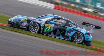 Richard Lietz (AUT) / Michael Christensen (DNK) driving the LMGTE Pro Dempsey-Proton Racing Porsche 911 RSR (2016) FIA WEC 6H Silverstone - Sunday 17th April 2016
