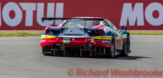 Davide Rigon (ITA) / Sam Bird (GBR) / driving the LMGTE Pro AF Corse Ferrari 488 GTE FIA WEC 6H Silverstone - Sunday 17th April 2016