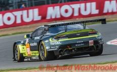 Paul Dalla Lana (CAN) / Pedro Lamy (PRT) / Mathias Lauda (AUT) driving the LMGTE Am Aston Martin Racing Aston Martin V8 Vantage FIA WEC 6H Silverstone - Sunday 17th April 2016