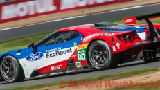 William Johnson (USA) / Stefan Mucke (DEU) / Olivier Pla (FRA) driving the LMGTE Pro Ford Chip Ganassi Team UK Ford GT FIA WEC 6H Silverstone - Sunday 17th April 2016