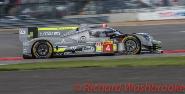 Simon Trummer (CHE) / Oliver Webb (GBR) / James Rossiter (GBR) driving the #4 LMP1 Bykolles Racing Team CLM P1/01 - AER FIA WEC 6H Silverstone - Sunday 17th April 2016