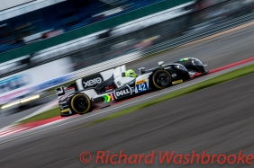 Nick Leventis (GBR) / Danny Watts (GBR) / Jonny Kane (GBR) driving the LMP2 Strakka Racing Gibson 015s - Nissan FIA WEC 6H Silverstone - Sunday 17th April 2016