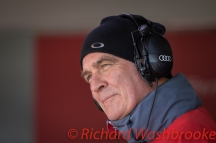 Wolfgang Ullrich Audi Race Engineer FIA WEC 6H Silverstone - Sunday 17th April 2016