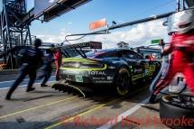 Nicki Thiim (DNK) / Marco Sorensen (DNK) / Darren Turner (GBR) driving the LMGTE Pro Aston Martin Racing Aston Martin Vantage FIA WEC 6H Silverstone - Sunday 17th April 2016