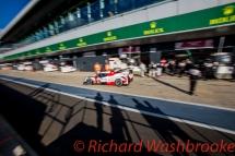 Stephane Sarrazin (FRA) / Mike Conway (GBR) / Kamui Kobayashi (JPN) driving the LMP1 Toyota Gazzo Racing Toyota TS050 - Hybrid FIA WEC 6H Silverstone - Sunday 17th April 2016
